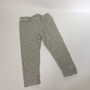 Cater's 12 months heart leggings